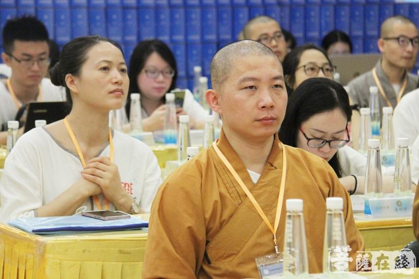 培育人才是佛教英语交流基地的重要任务之一(图片来源:菩萨在线 摄影:妙文)