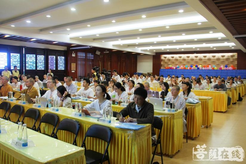 2018佛教英语培训班实训(图片来源:菩萨在线 摄影:妙文)