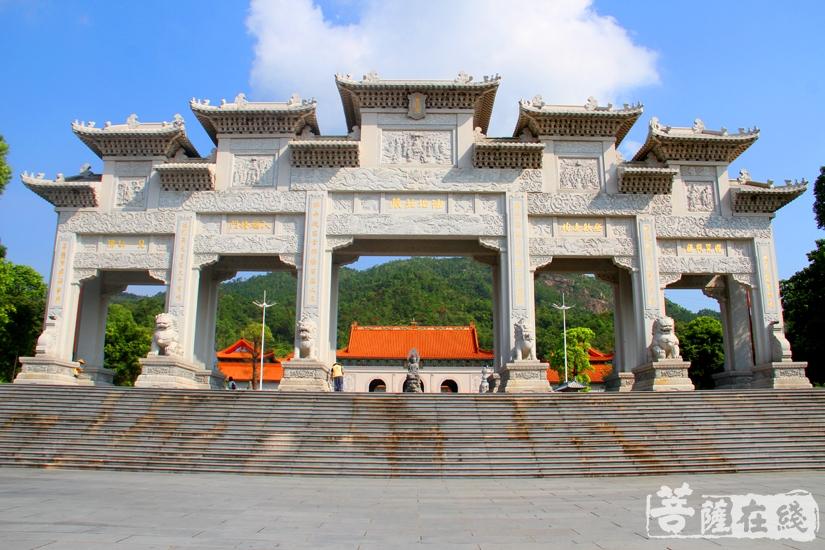 珠海普陀寺(图片来源:菩萨在线 摄影:妙文)