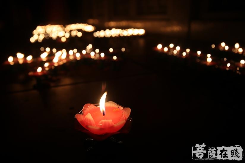 灯,代表着光明(图片来源:菩萨在线 摄影:妙雨)