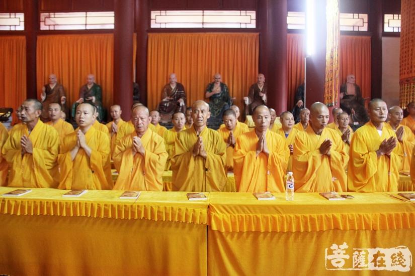 祈愿现世者消灾延寿(图片来源:菩萨在线 摄影:妙文)
