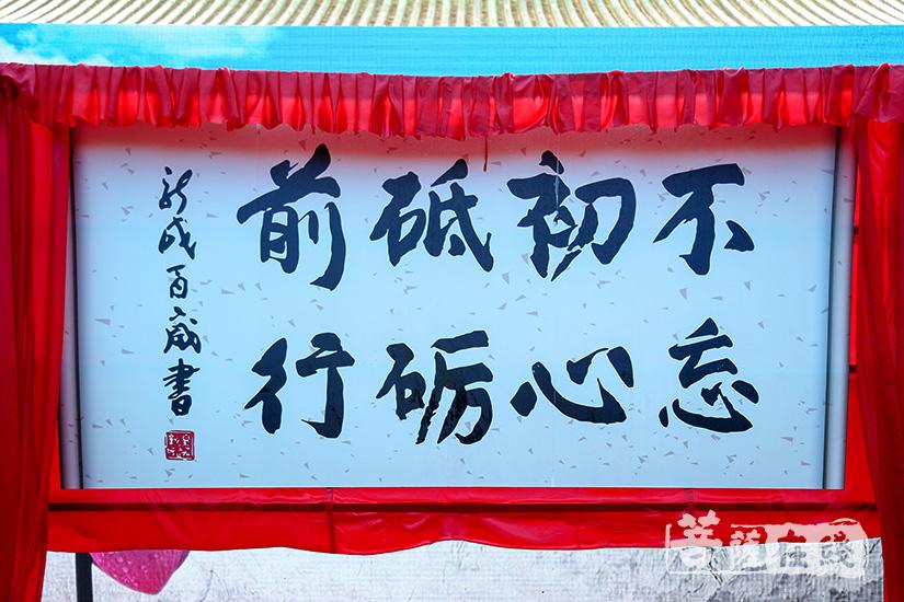 新诚长老勉励广州市佛教协会:不忘初心、砥砺前行(图片来源:菩萨在线 摄影:妙清)