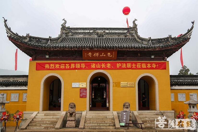 包山禅寺为南朝古刹(图片来源:菩萨在线 摄影:果仁)