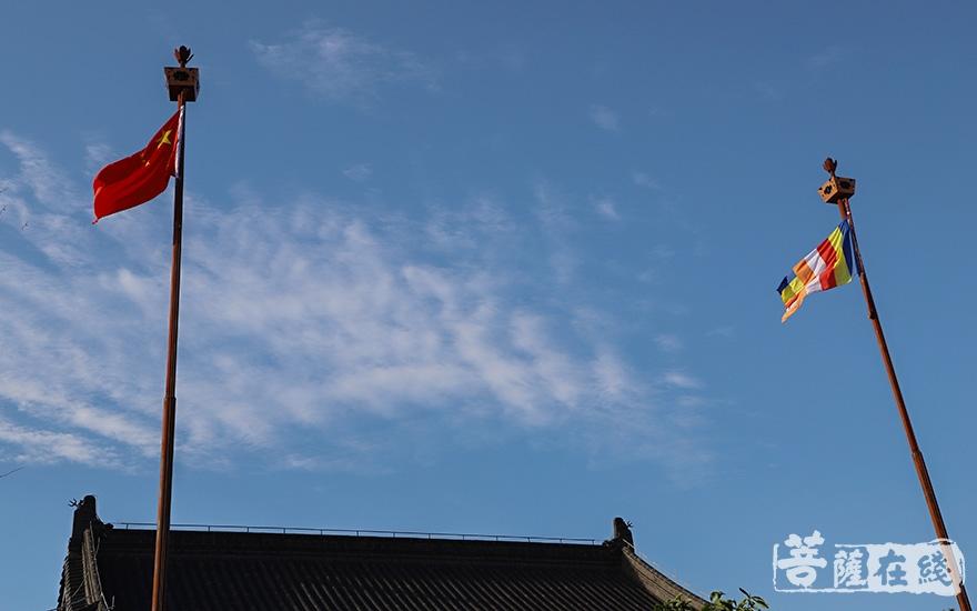 爱国爱教(图片来源:菩萨在线 摄影:妙澄)