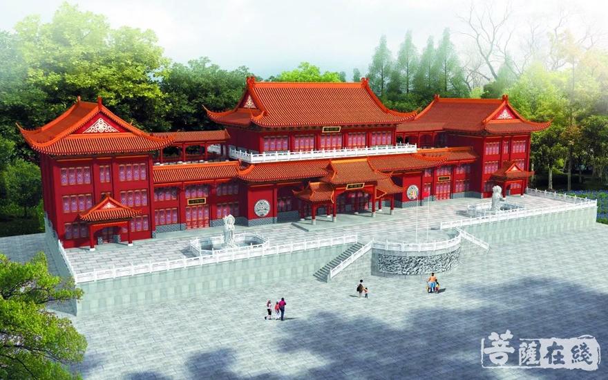寿量古寺毗卢殿规划图