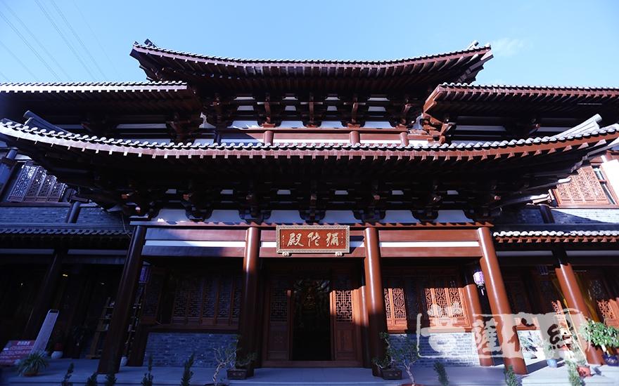 彌陀殿(圖片來源:菩薩在線 攝影:妙月)