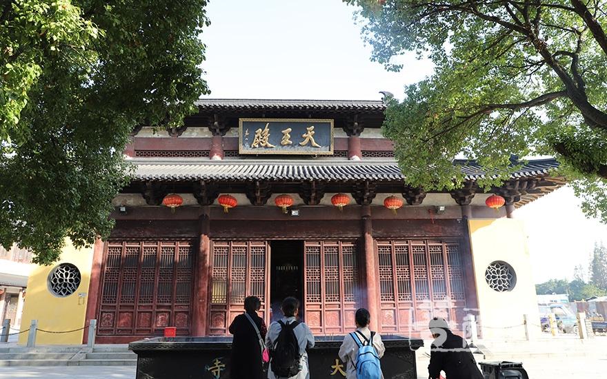 大云禅寺天王殿(图片来源:菩萨在线 摄影:妙澄)