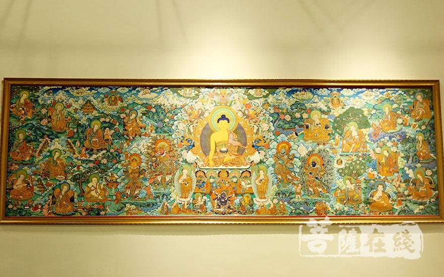 佛教与艺术精品展(图片来源:菩萨在线 摄影:妙梵)
