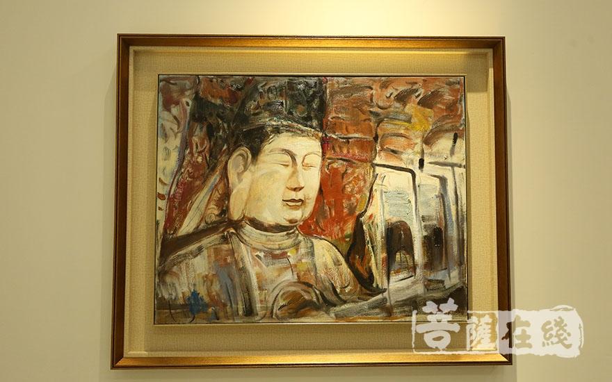 """佛教与艺术精品展之""""佛国天香""""(图片来源:菩萨在线 摄影:妙梵)"""