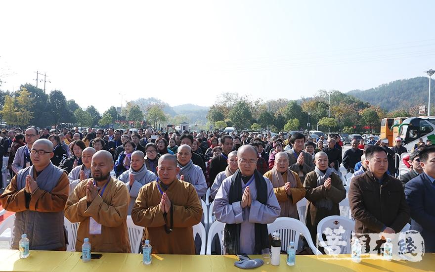 第六届禅文化论坛开幕式在三宝歌声中圆满(图片来源:菩萨在线 摄影:妙静)