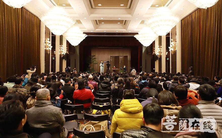 """""""天籁云和""""《东皋琴谱》古琴音乐会(图片来源:菩萨在线 摄影:慧恒)"""