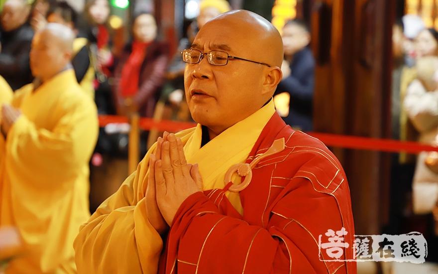 光瑞法师主法祈福法会(图片来源:菩萨在线 摄影:妙澄)