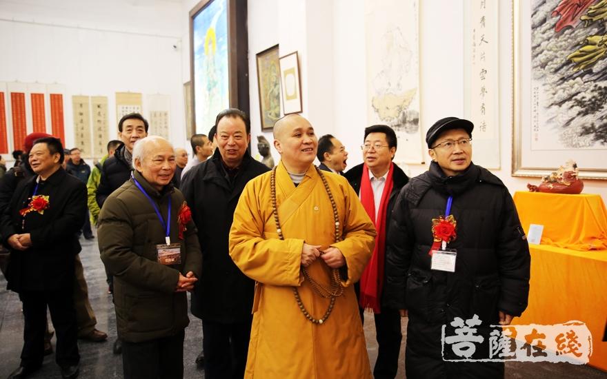 充满峨眉山佛教历史和文化气息(图片来源:菩萨在线 摄影:妙雨)
