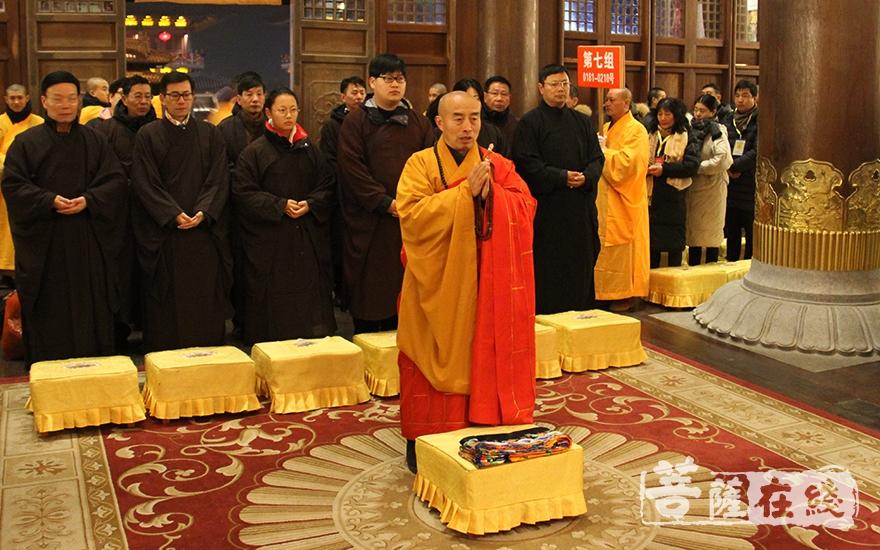 祈福法会(图片来源:菩萨在线 摄影:慧德)