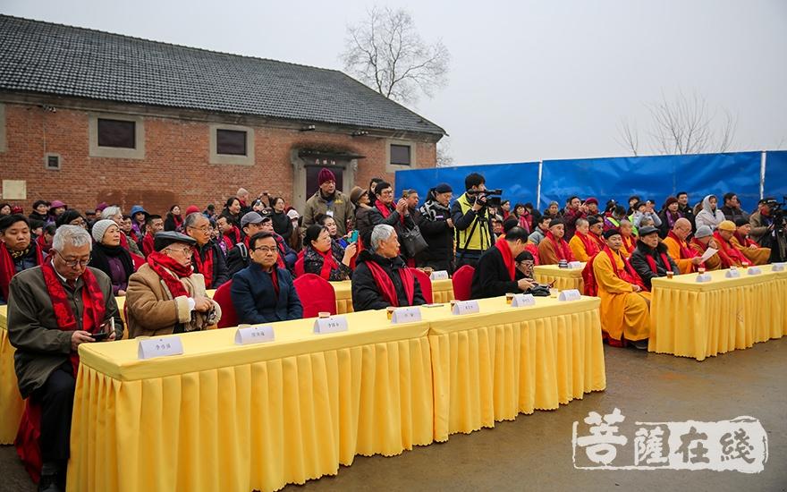 出席开幕式的领导嘉宾(图片来源:菩萨在线 摄影:果仁)