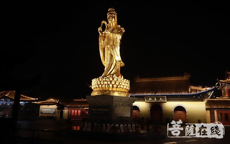 镇国寺为观音道场(图片来源:菩萨在线 摄影:妙澄)