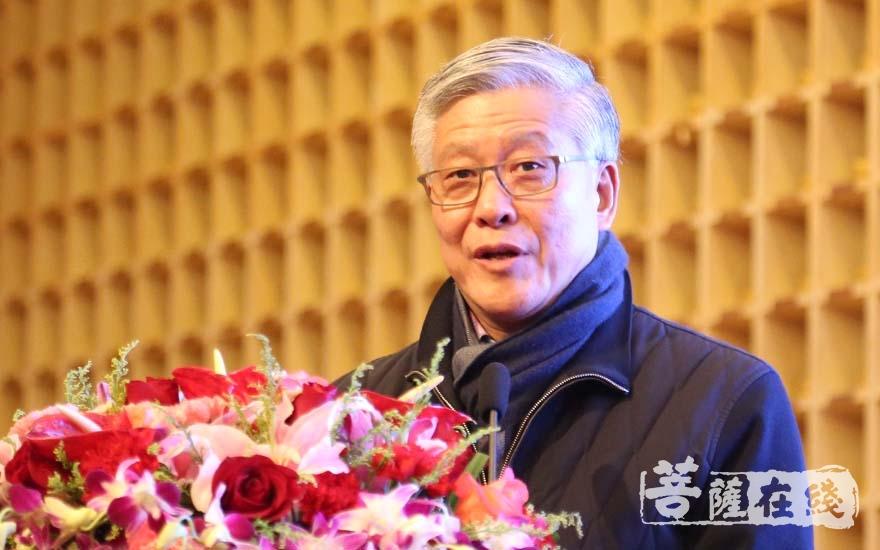 中国国家博物馆(原)副馆长陈履生先生(图片来源:菩萨在线 摄影:妙清)