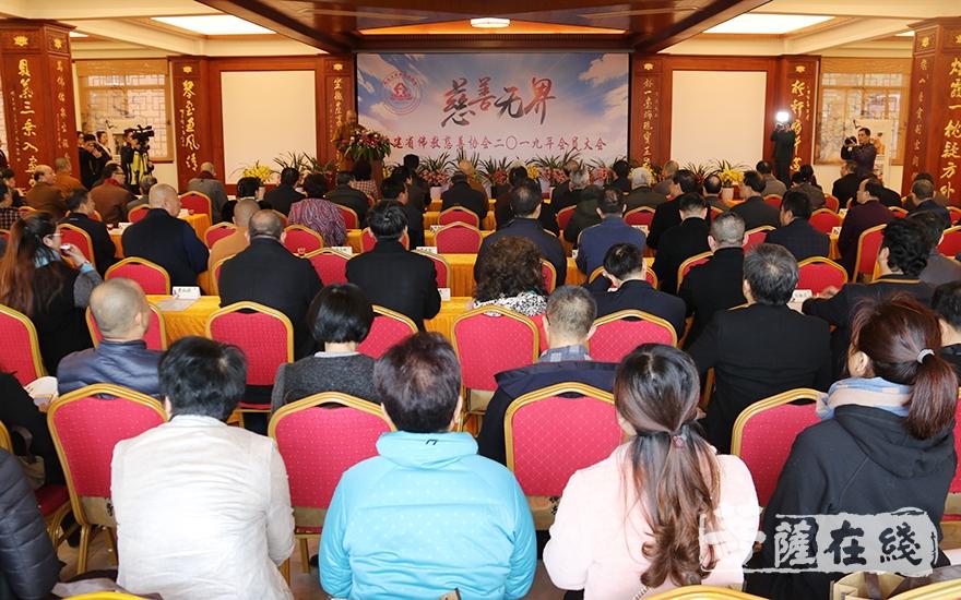 福建省佛教慈善协会成立一周年(图片来源:菩萨在线 摄影:妙月)