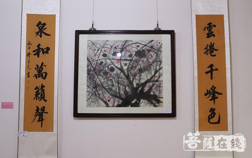 展出作品(图片来源:菩萨在线 摄影:妙月)