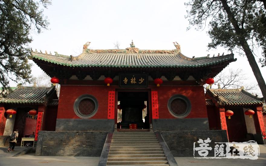 禅宗祖庭——少林寺(图片来源:菩萨在线 摄影:妙雨)