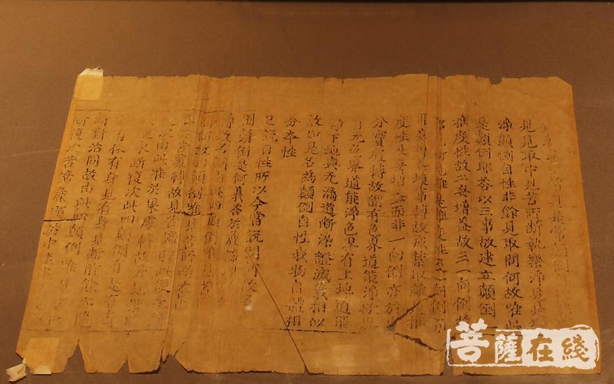 《赵城金藏》(图片来源:菩萨在线 摄影:妙雨)
