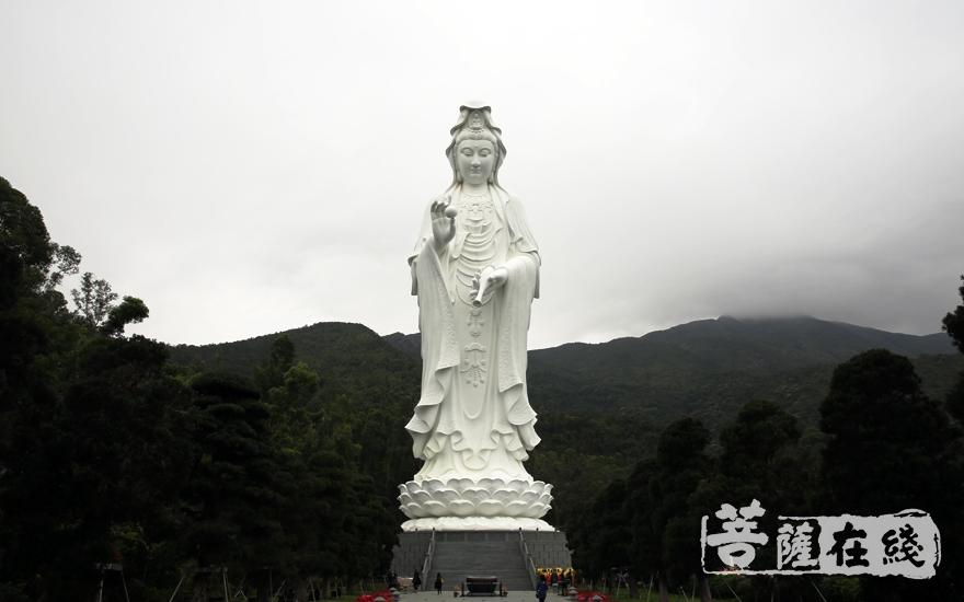 慈山寺观音圣像(图片来源:菩萨在线 摄影:妙雨)