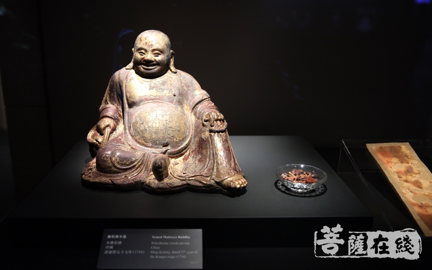 佛教文物(图片来源:菩萨在线 摄影:妙雨)