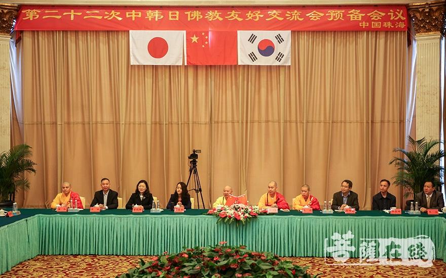 中国佛教代表团(图片来源:菩萨在线 摄影:果仁)
