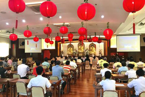 """""""一带一路""""与人间佛教人文讲坛走进菲律宾佛光山"""