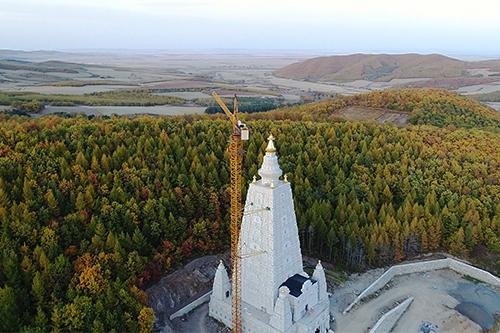黑龙江勃利县极灵寺将举行金刚正觉塔开光法会