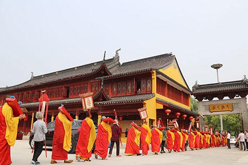 【高清图集】上海报国寺举行水陆法会之送圣仪式
