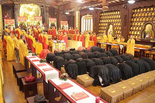 上海地藏古寺水陆法会第六天