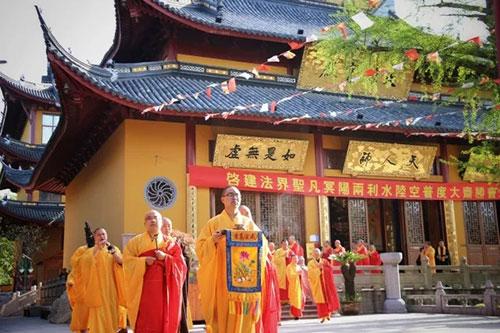 上海寿安寺将举行全堂佛像开光暨惟觉法师升座法会
