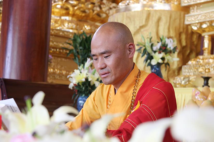 大觉禅寺启建第二届华严法会