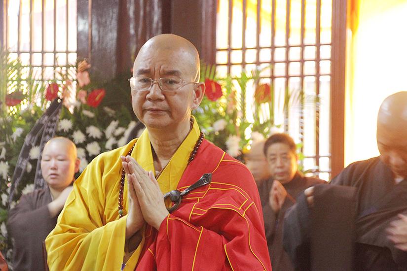 【高清图集】中国佛教协会学诚会长赴无锡祥符禅寺悼念无相长老