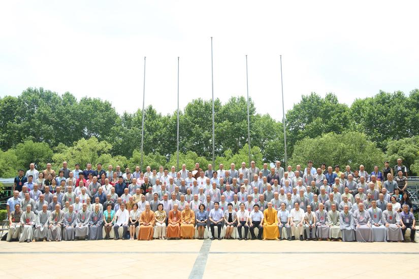 【高清图集】江西省九江市佛教协会召开第四次代表大会 普钰大和尚当选会长