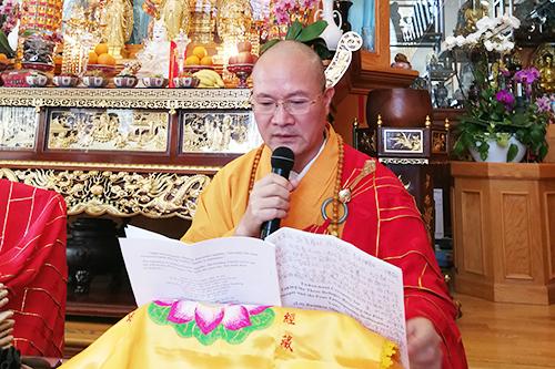 第三届汉传佛教传教师认证授戒活动在美国举办