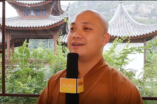 河北保定大佛光寺由普能法师接任住持 普能法师谈就职感想