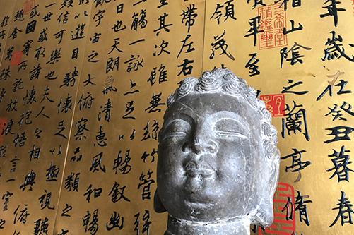 唐代千年古佛首回归五台山真容禅寺