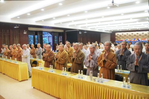 追思健钊长老 佛教英语交流基地举行诵经回向仪式