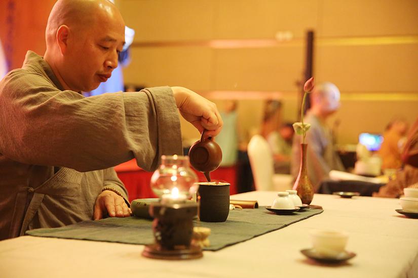 【高清图集】共叙同窗法谊 茶道祖庭万寿禅寺举办径山茶会