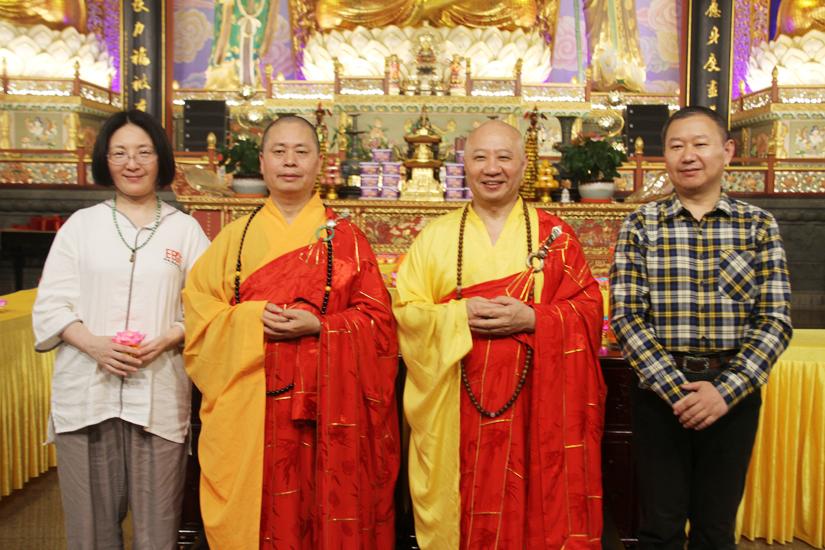 2018佛教英语培训班结业