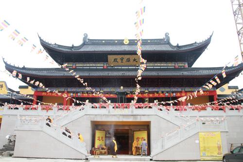 南通市崇福禅寺将举行2018水陆法会