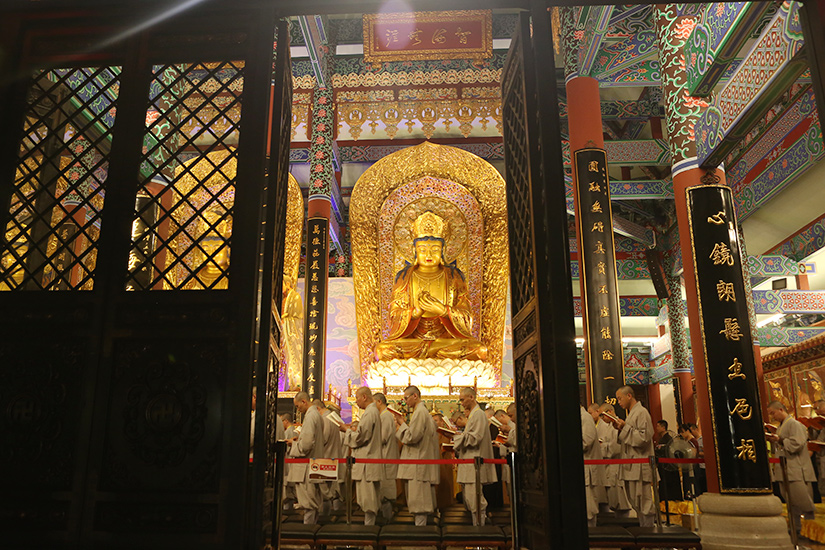 【高清图集】珠海普陀寺短期出家班第六日至第七日