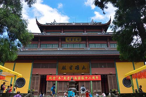 杭州灵隐寺举行木鱼老和尚圆寂十二周年追思法会