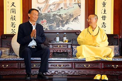 大理崇圣寺举行佛教藏品捐赠仪式