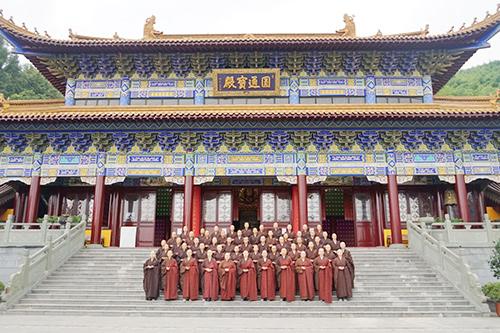 江苏尼众佛学院举行首届函授大专班开班仪式