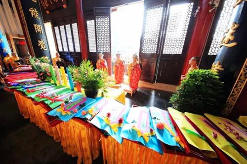 灵峰讲寺启建第八届报恩护国水陆大斋胜会