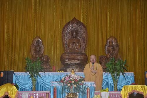 聊城市佛教协会举行2018讲经活动