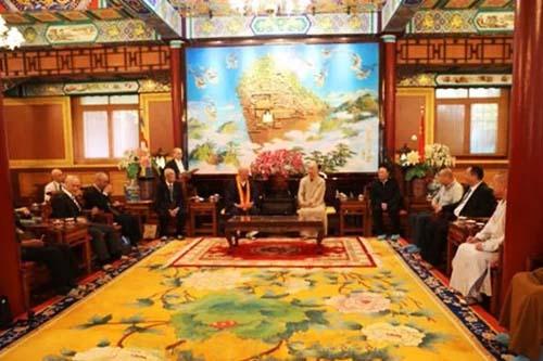 日本真言宗第33次友好访华团拜访中国佛教协会